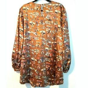 1823d0d885c Melissa McCarthy Seven7 Tops - 2X Melissa McCarthy Seven7 Mushroom Print Top  NWT